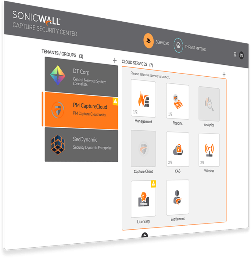 Capture Security Center - SonicWall
