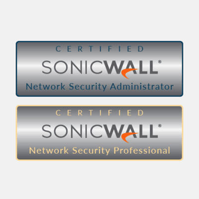SonicWall Training and Certification for cyber-security