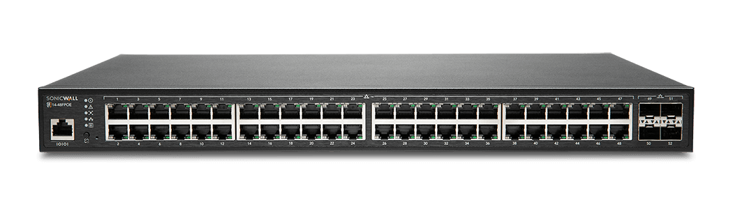 SonicWall network switch model 14-48FPOE