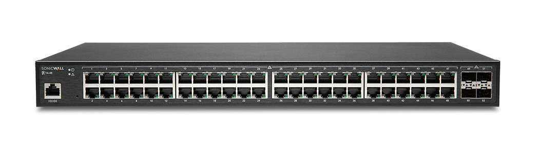 SonicWall network switch model 14-48