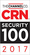 CRN Security 100 & 25 Coolest Network Security Vendors 2017 Bild