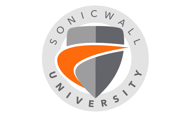 SonicWall University logo